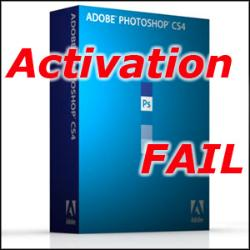 Adobe activation is ridiculous, and a failure