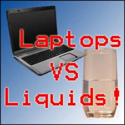 Laptops vs Liquids, how to salvage your laptop in the event of a liquid spill